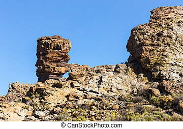Roques de Garcia, Teide National Park, Tenerife, Canary Islands, Spain