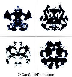 Rorschach test - An image of the Rorschach test ink blots