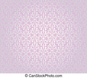 rosa, årgång, tapet, design, bakgrund, silver