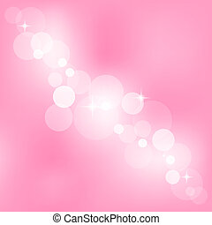 rosa, abstrakt, vektor, bakgrund