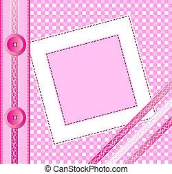 rosa, albumsdecke