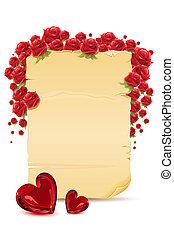rosa, amore, scheda