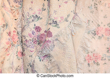 rosa, anticaglia, coperta, rose