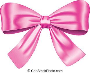 rosa, arco regalo