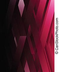 rosa, astratto, linee, geometrico, fondo