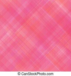 rosa, astratto, quadrato, pattern.