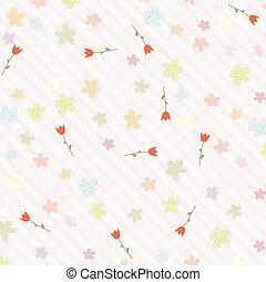 rosa bakgrund, med, blomningen