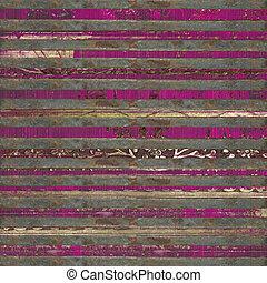 rosa, barre, legno, rotolo, fondo