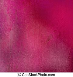 rosa, befleckt, grunge, hintergrund