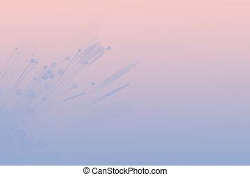 rosa, blu
