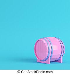 rosa, blu, barile, colori, rubinetto, fondo, pastello, luminoso