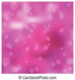 rosa, bokeh, effetto, fondo, sfocato
