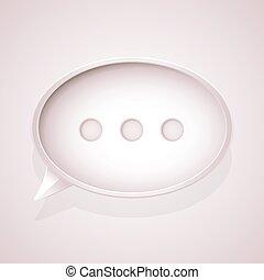 rosa, bolla discorso