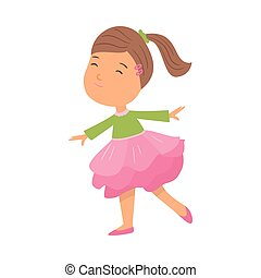 rosa, carino, scuola, fiore, bellezza, ragazza, vestire