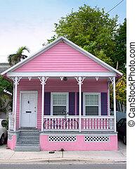 rosa, casa