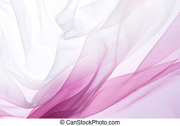 rosa, chiffon