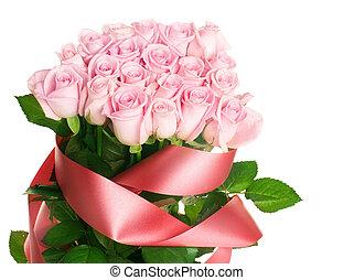 rosa colore rosa, mazzo