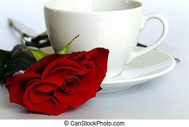 rosa, copo