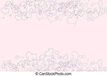 Rosa Cuori Sfondo Bianco Rosa Fondo Sfondo Bianco Cuori
