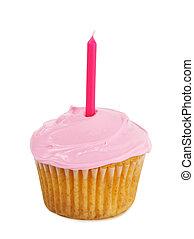rosa, cupcakes