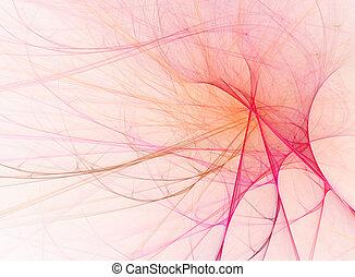 rosa, diseño abstracto