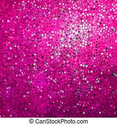 rosa, eps, strabiliante, disegno, sagoma, 8, glittering.