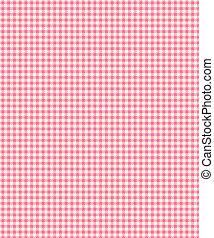 rosa, ficha, tartán, papel