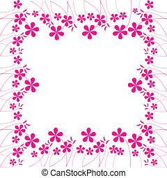 rosa florece, follaje