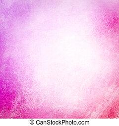rosa, grunge, fondo, struttura, vuoto