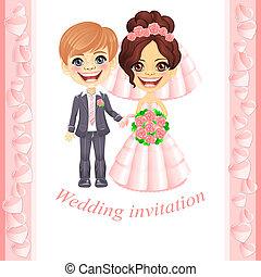 rosa, invito matrimonio