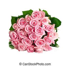 rosa, isolare