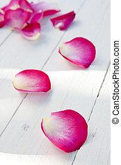 rosa kronblad