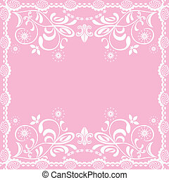 rosa, kvinnlig, abstrakt, bakgrund