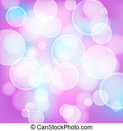 rosa, licht, abstrakt, effekte, hintergrund
