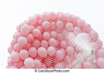 rosa, luftballone, gegen, brustkrebs