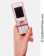 rosa, mobilfunk
