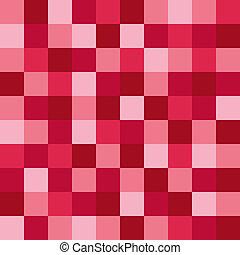 rosa, modello, mosaico