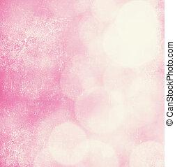 rosa, morbido, fondo