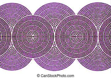 rosa wand fliesen lila mosaik. Black Bedroom Furniture Sets. Home Design Ideas