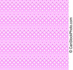 rosa, nät, mönster, ligh, seamless, halftone, design.