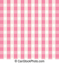 rosa, patrón, tartán, seamless