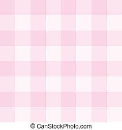 rosa, patrón, vector, cuadrícula, seamless