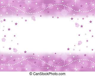 rosa, principessa, scintilla, fondo