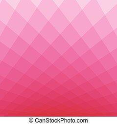 rosa, quadrato, tono, fondo