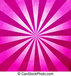 rosa, raggi, fondo, struttura