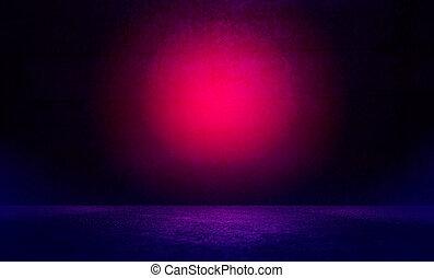 rosa, riflettore