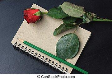rosa, rosso