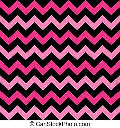rosa, söt, ), (, seamless, svart, sparre, mönster
