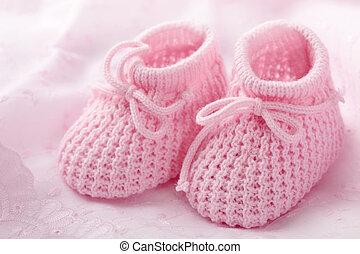 rosa, saqueos bebé
