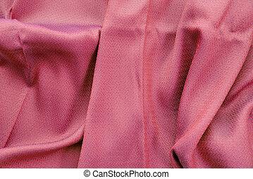 rosa, seide, hintergrund, stoffstruktur